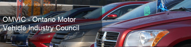 OMVIC - Ontario Motor Vehicle Industry Council