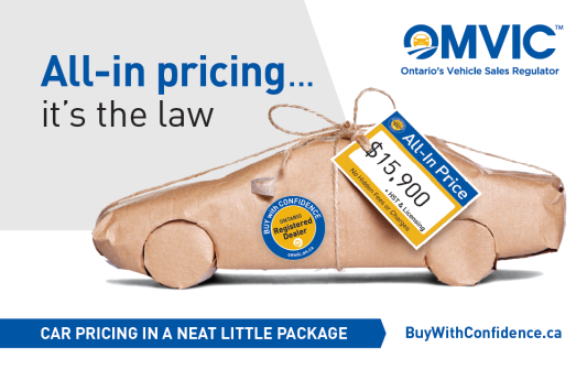 All-in pricing...it's the law!