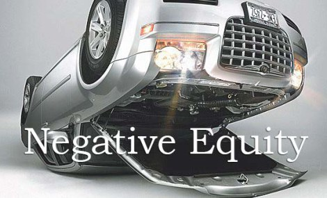 Upside down car negative equity