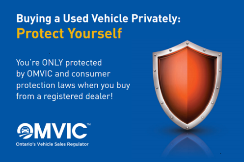 Buying Vehicle Privately - Protect Yourself