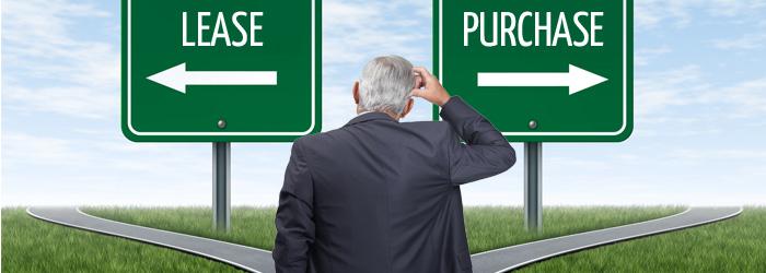 leasing a car versus buying a car