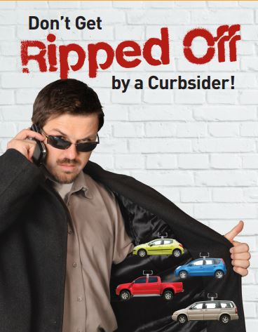 curbsider don't get ripped off