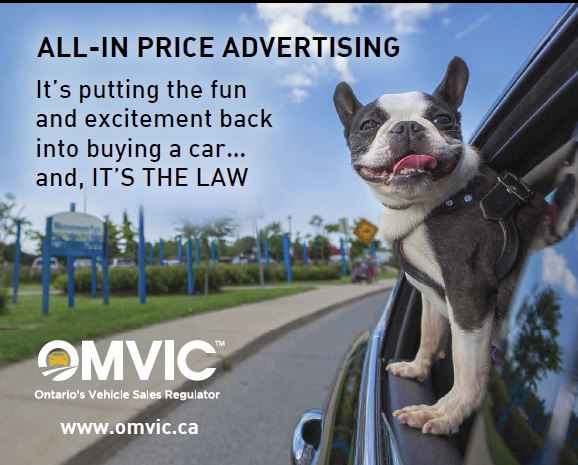 all in price advertising dog
