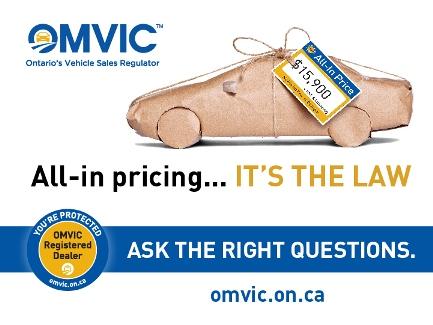 Sudbury Car Dealerships >> OMVIC Consumers