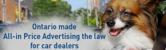 All-in Price Advertising the law for car dealers