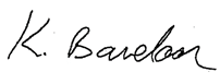 Kevin Bavelaar signature