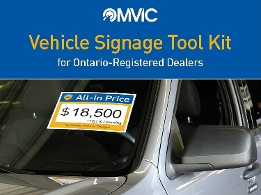 All-in Pricing Windshield Signs